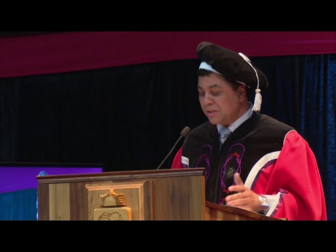 UFS Autumn Graduation Ceremony 10 April 2018 (afternoon session)