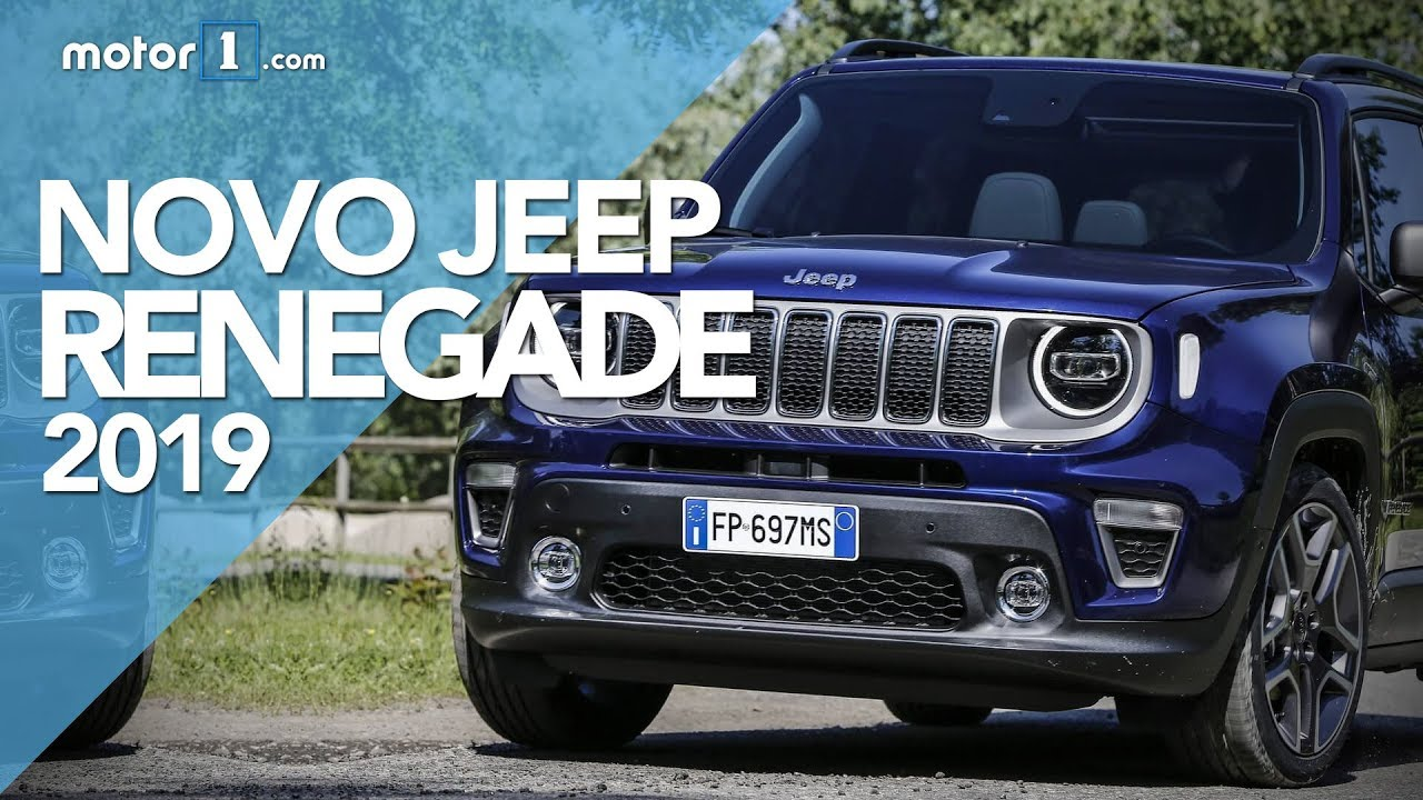 Novo Jeep Renegade 2019 Youtube