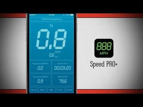 Speed PRO+ iPhone App Demo - DailyAppShow