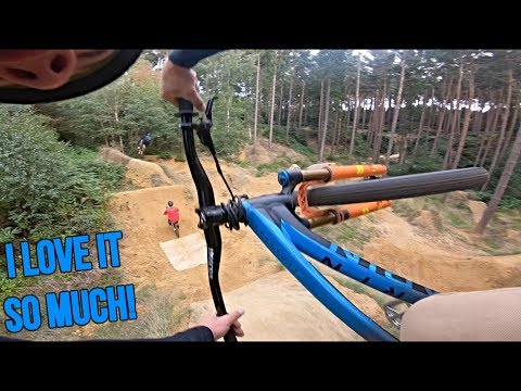BACK AT THE HOME DIRT JUMPS!!