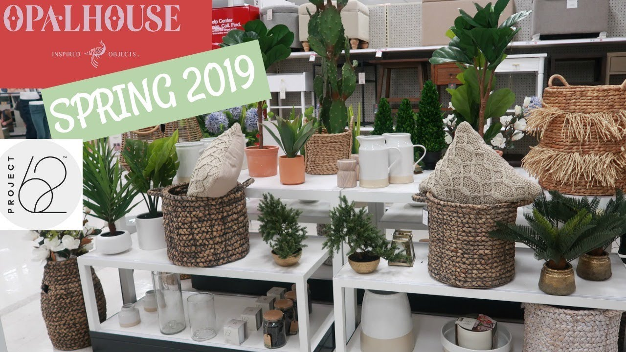 "Home Decor Project Youtube: TARGET ""NEW"" HOME DECOR! 2019 SPRING"