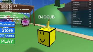 playing geometry dash in roblox