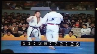 極真アーカイブス 第12回 全日本 3回戦 岩崎弥太郎 vs 水口敏夫