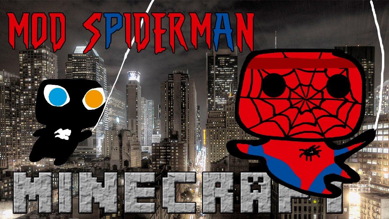Minecraft spiderman mod del hombre ara a con poderes - Decoraciones para minecraft sin mods ...