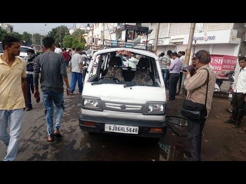 Vadodara: School Van turns over, 14 students hurt