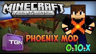 Phoenix mod Para Minecraft Pe 0.10.X