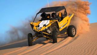 Yamaha YXZ1000R in the Dunes