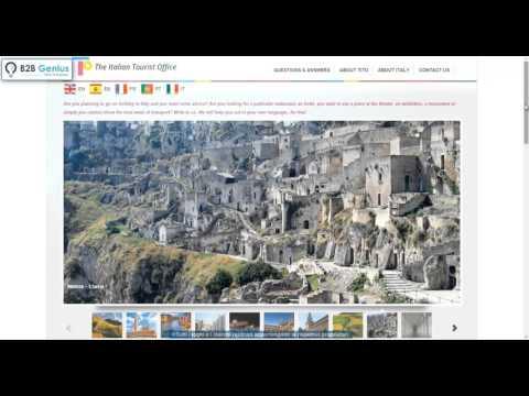 The Italian Tourist Office  - Creazione sito web