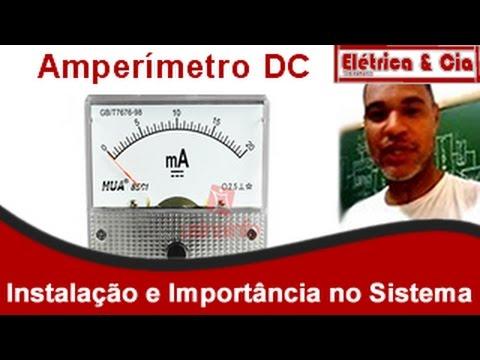 Instalação do Amperímetro DC  no Sistema de Energia solar e Sua Importância