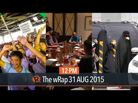 INC protest, Aquino's emergency meeting, Saudi elections | 12PM wRap