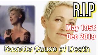 Roxette Lead Singer Cause of Death