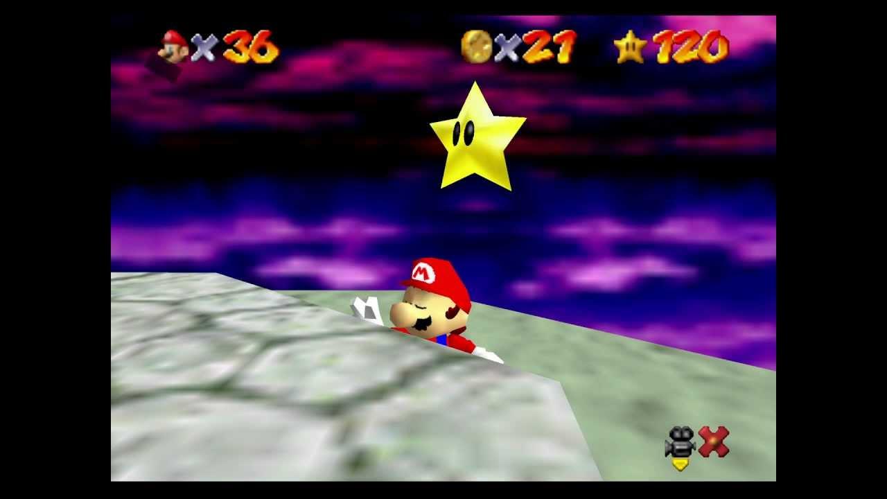 "[TAS] N64 Super Mario 64 ""all 120 stars"" by MKDasher, Nahoc, sonicpacker, Bauru, [...] in"