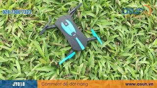 Biểu Diễn Máy Bay Điều Khiển Flycam JY018 Wifi Camera Bằng Điện Thoại - Asun.vn
