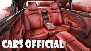 2019 Bentley Mulsanne WO Edition Cocktail Cabinet (INTERIOR)