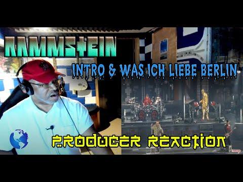 Rammstein   Intro & Was Ich Liebe   Berlin Olympiastadion 22 06 2019 - Producer Reaction