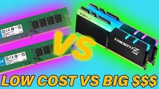 Cheap VS Expensive RAM... DOES IT MATTER?
