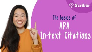 The Basics of AṖA In-text Citations (6th Edition) | Scribbr 🎓