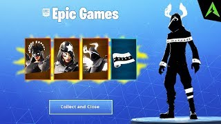 New Bundle * SHADOW LEGENDS PACK * in Fortnite..