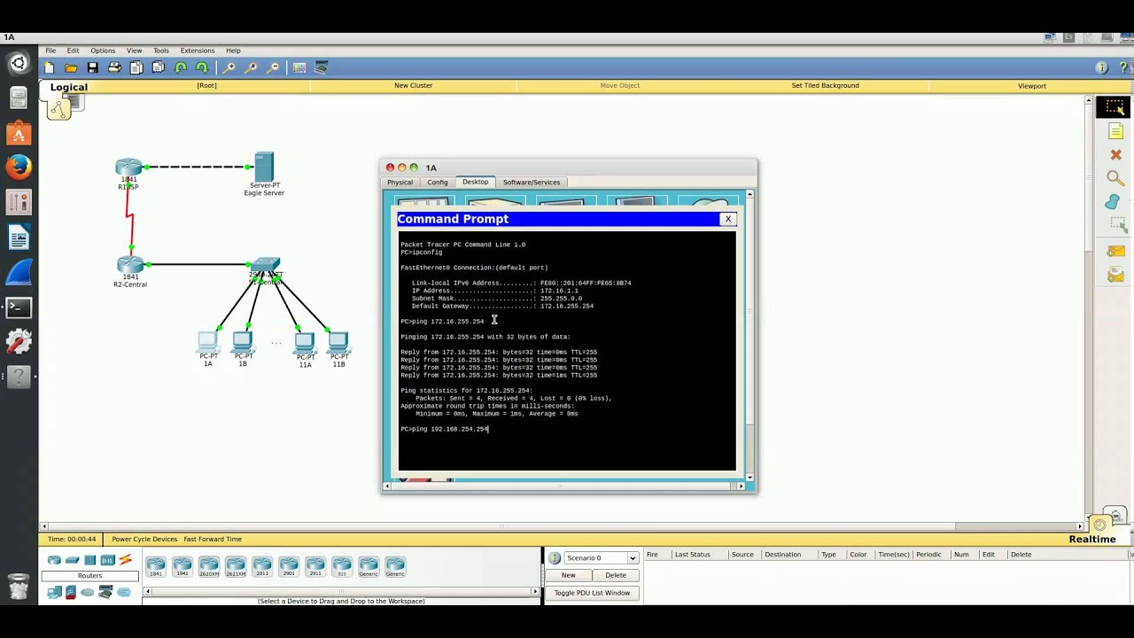 cisco packet tracer commands pdf