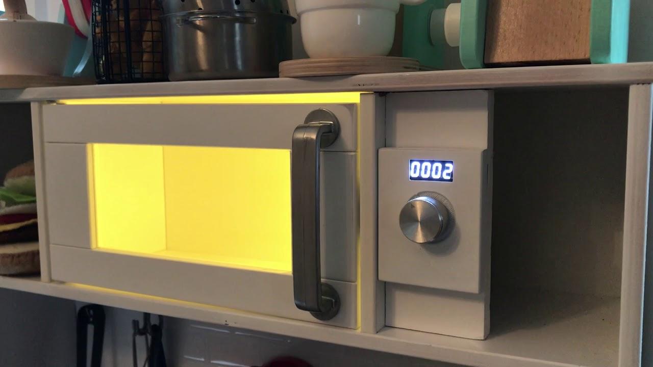 ikea hack microwave for the duktig kids kitchen youtube. Black Bedroom Furniture Sets. Home Design Ideas
