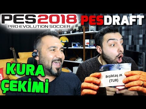 KURA ÇEKİMİ ŞAMPİYONLAR LİGİ GRUPLARI CHALLENGE! | PES 2018 PESDRAFT