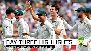 Australia in commanding position after dominant day | Second Domain Test v New Zealand