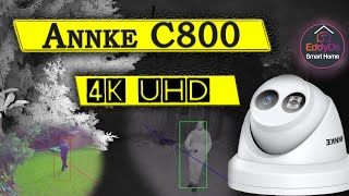 Annke C800 4K UHD 8MP POE Review [Test & Unboxing]