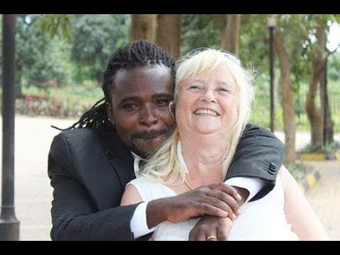 Black man with white woman