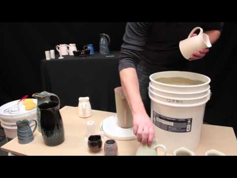 Potter's Choice Glazes -- Layering With Dipping Glaze