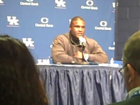 Tee Martin talks about staying at Kentucky.
