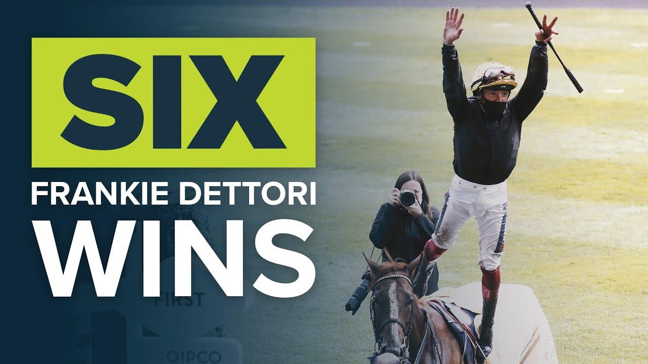 BEST JOCKEY IN THE WORLD? SIX FRANKIE DETTORI ROYAL ASCOT WINS