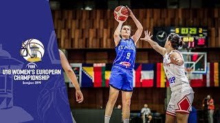 Croatia v Italy - Full Game - FIBA U18 Women's European Championship 2019
