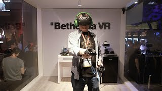 Hands-On with VR at E3: Doom VFR, Fallout 4, Skyrim, Gunheart! thumbnail