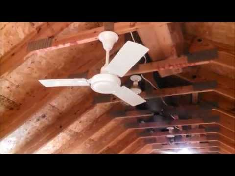 "Autumaire (Airmaster) B36 (D36, B100) 36"" Industrial/Commercial Ceiling Fan (FULL)"