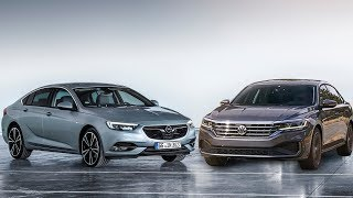2020 Volkswagen Passat vs 2019 Opel Insignia Grand Sport