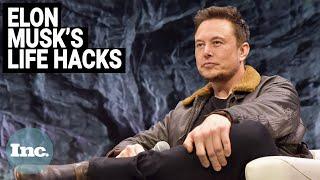 Elon Musk's 5 Success Hacks   Inc.