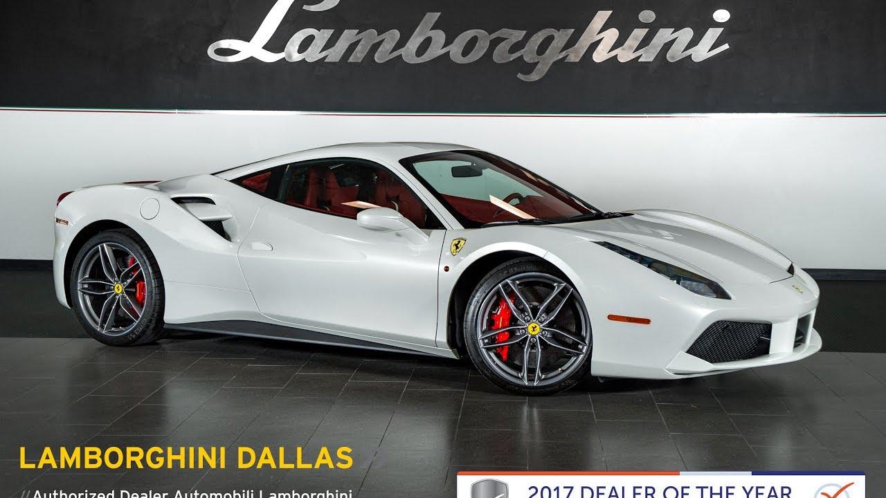 2016 Ferrari 488 Gtb Bianco Italia L0983 Youtube