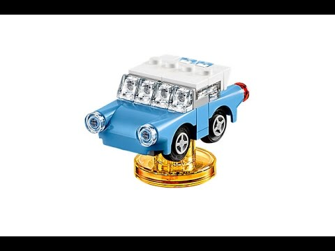 Enchanted Car How To Build Lego Dimensions 71247 Youtube