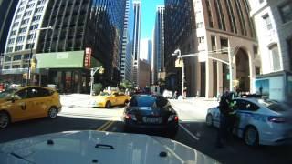 A random drive around Manhattan, New York City