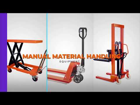 Manual Material Handling Equipment - CUMI Lift