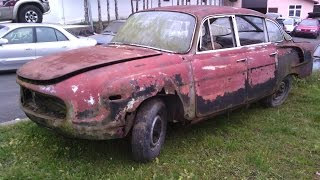 Tatra 603 - renovace
