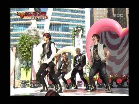 U-Kiss - DORADORA, 유키스 - 돌아돌아, Music Core 20120505