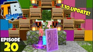 Truly Bedrock Episode 20! The 1.10 Update Is Real! Minecraft Bedrock Survival Let's Play!