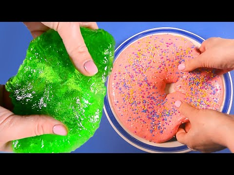 No glue Clear slime recipe. How to make clear slime without glue. DIY