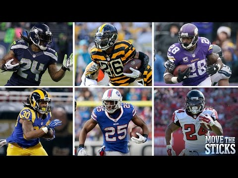 Which Running Back Would You Choose for 1 Play, 1 Game & 1 Season? | Move the Sticks | NFL