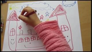 Катя рисует замок(Катя покажет как нарисовать волшебный замок., 2016-09-06T12:22:14.000Z)