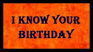 I KNOW YOUR BIRTHDAY | Maths Magic Trick - YouTube