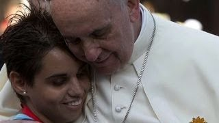 Three cheers for Pope Francis