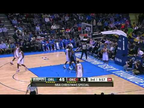 Oklahoma City Thunder Vs Orlando Magic - NBA - Season - Highlights 2011- 2012