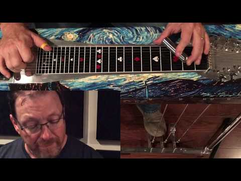 "Zane King Steel Guitar Coach ""Movement in Bb"""